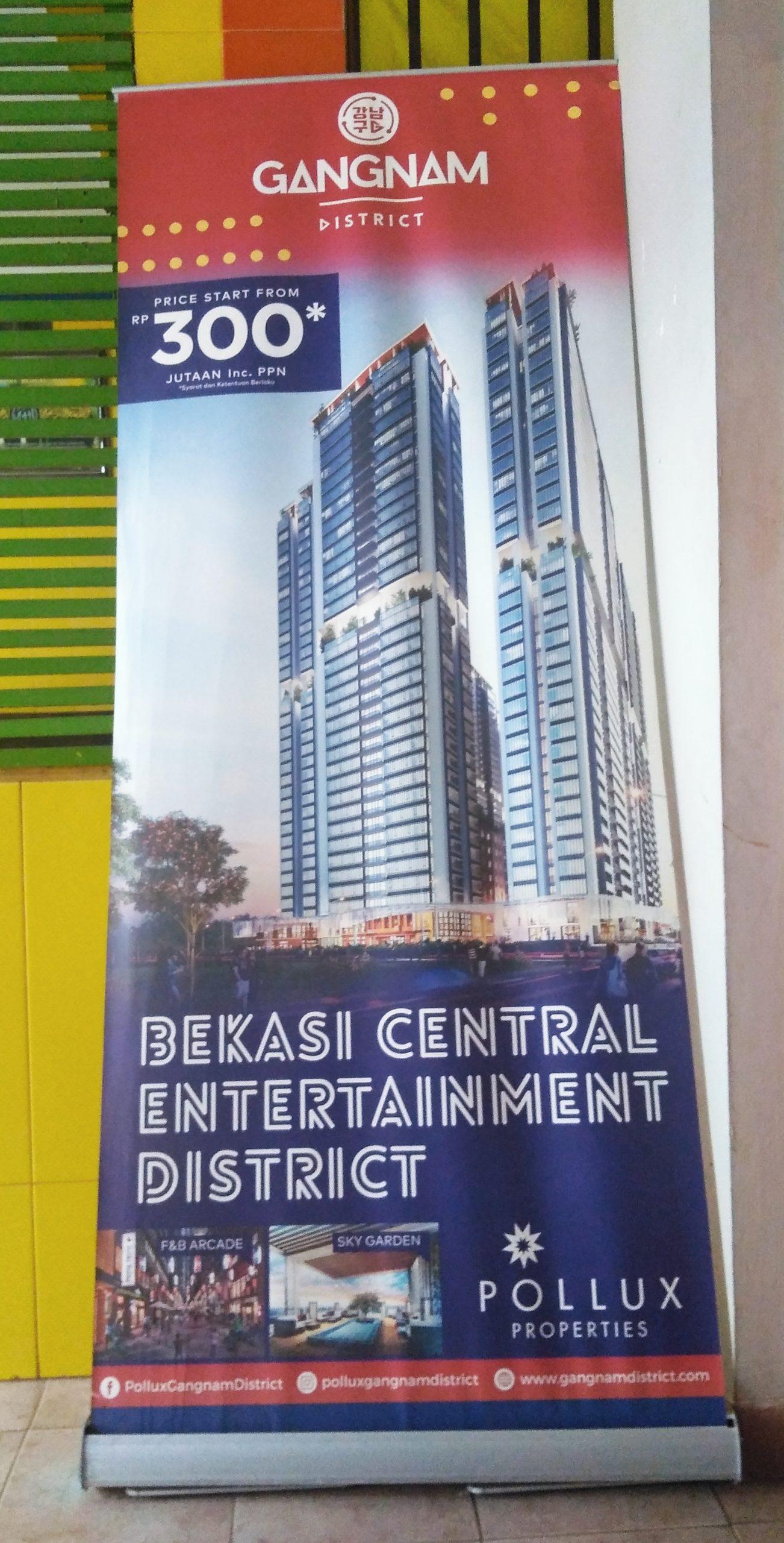 Gangnam itu di Bekasi, bukan Seoul