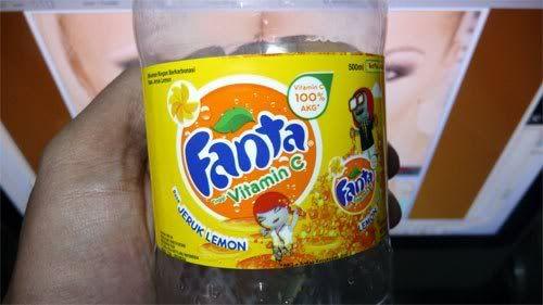 botol fanta vitamin c