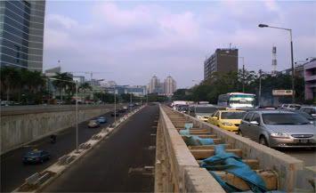 proyek underpass @ kemayoran