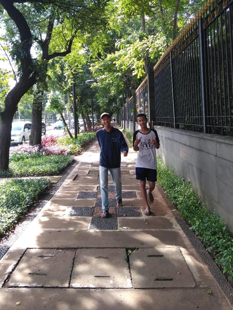 Jalan Kebonsirih sebelah Bank Indonesia, Jakarta Pusat
