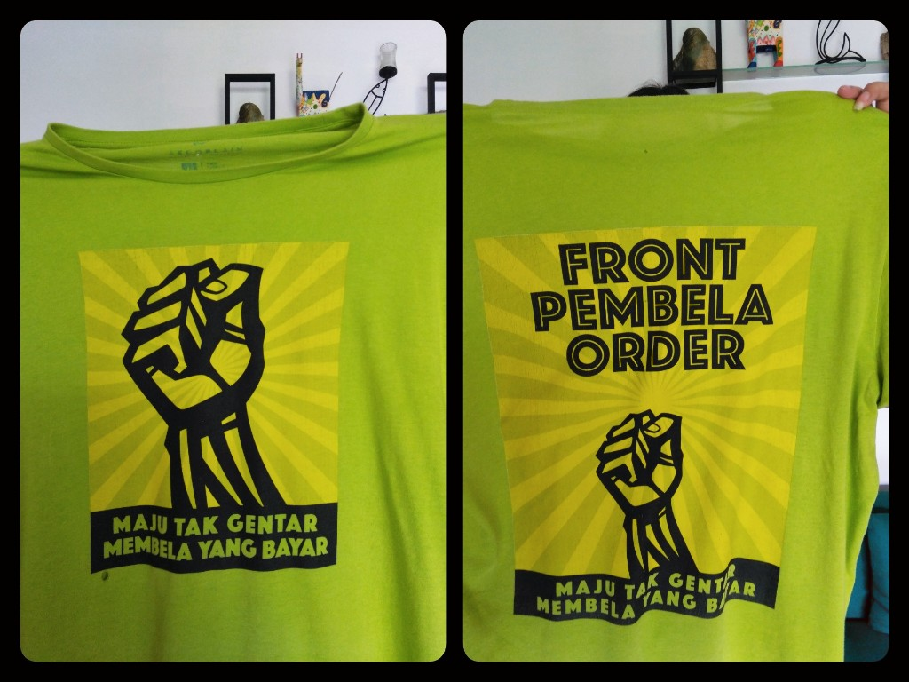 Kaus bolong milik front pembela ini itu