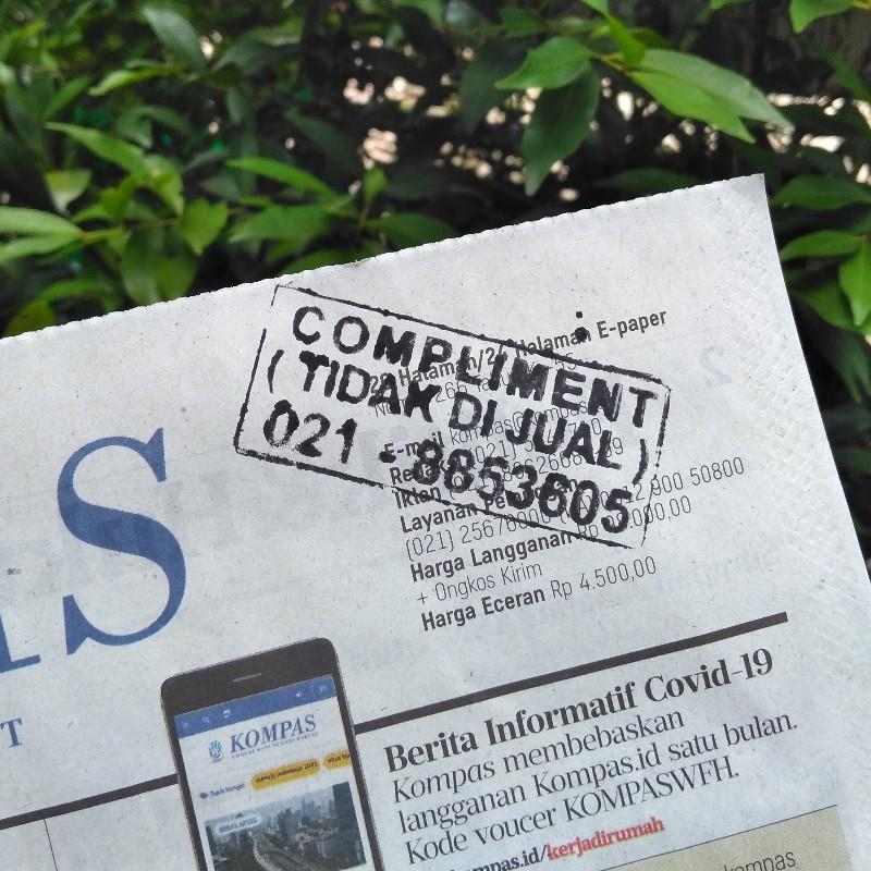 Koran gratis padahal bayar