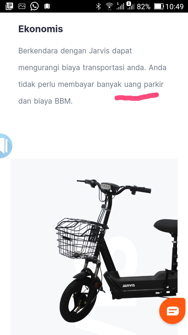 Parkir sepeda gratis, kalau hilang itu nasib