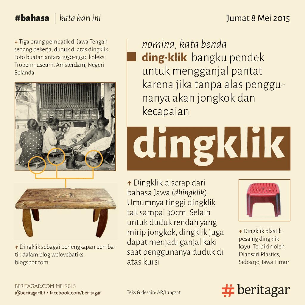 Kisah dingklik dan takhta Sultan Yogyakarta