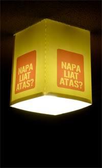 Lampion kap lampu dari kertas foto Antyo