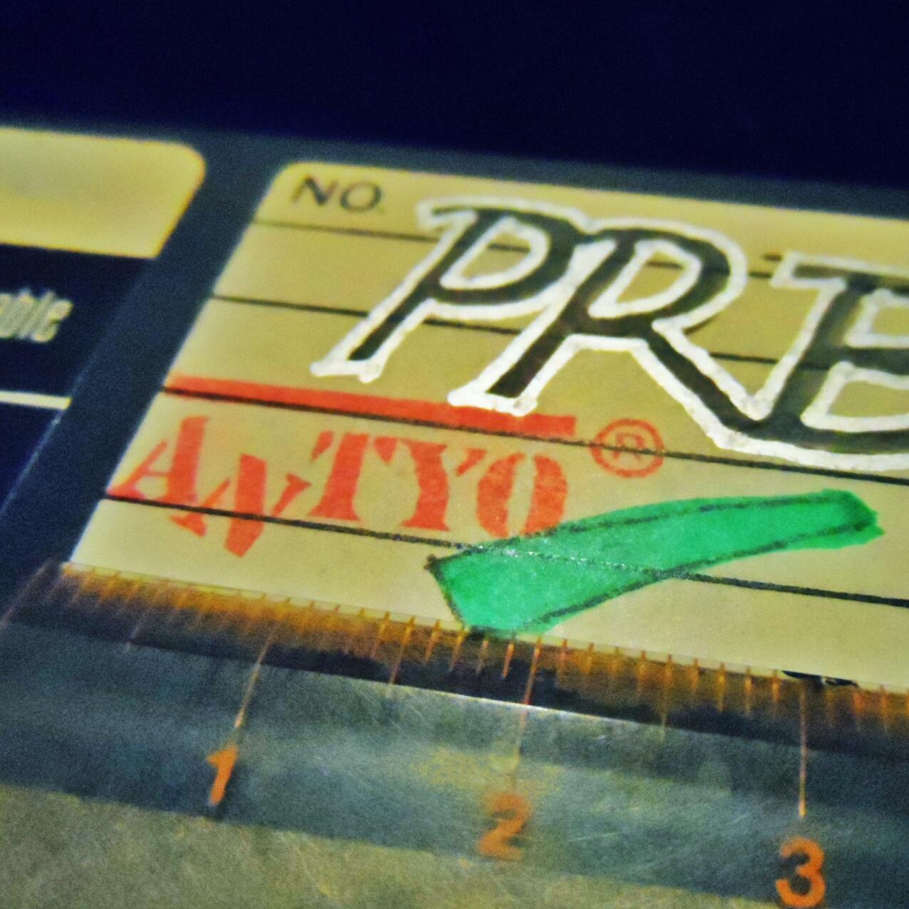 Stempel Antyo untuk floppy disk 5,25 inci