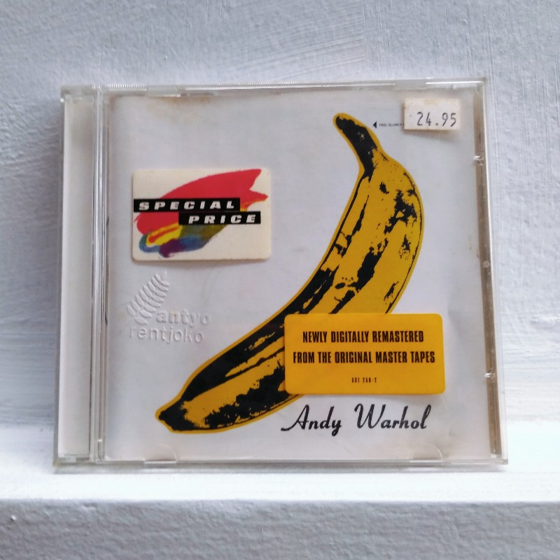 CD The Velvet Underground dan pisang Andy Warhol Blogombal.com