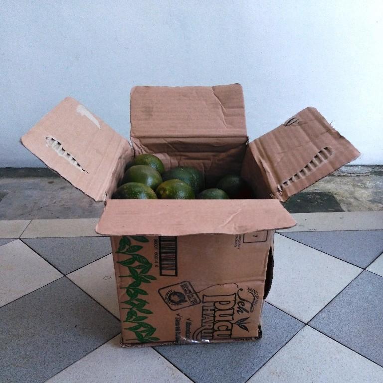 Beli jeruk peras secara online lebih murah dari pasar dan Carrefour
