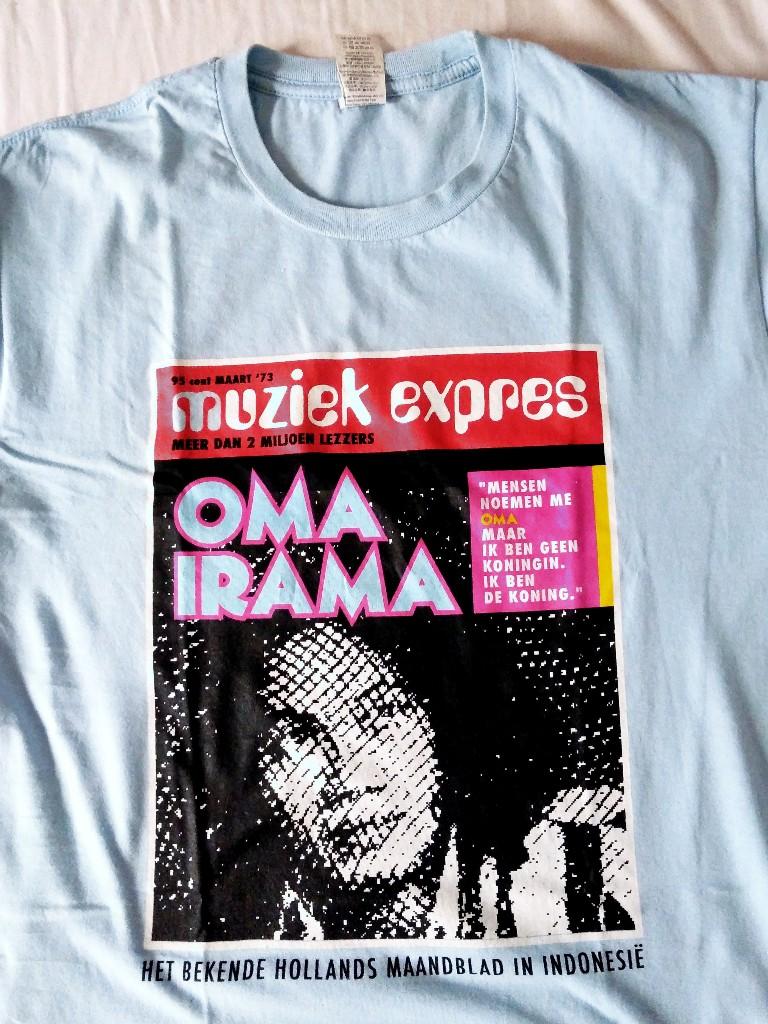 Rhoma Irama dalam majalah Belanda Muziek Expres
