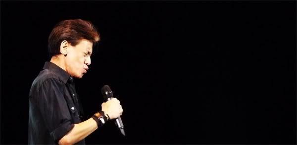 Fariz R.M. dalam konser Keenan Nasution di TIM