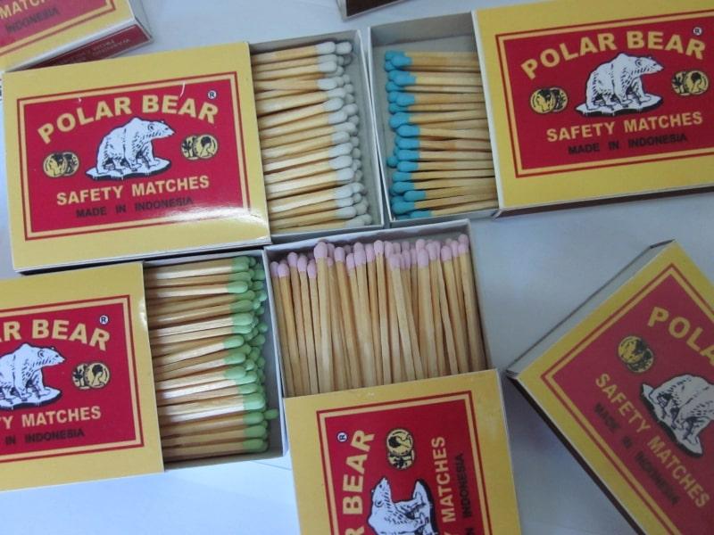Ragam isi korek batang Polar Bear