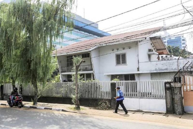 Rumah jengki di Kebayoran Baru Jakarta Selatan