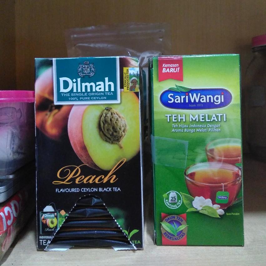 Teh celup Sariwangi versus Dilmah
