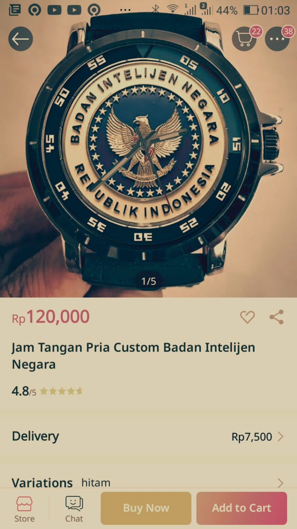 Jam tangan untuk intel