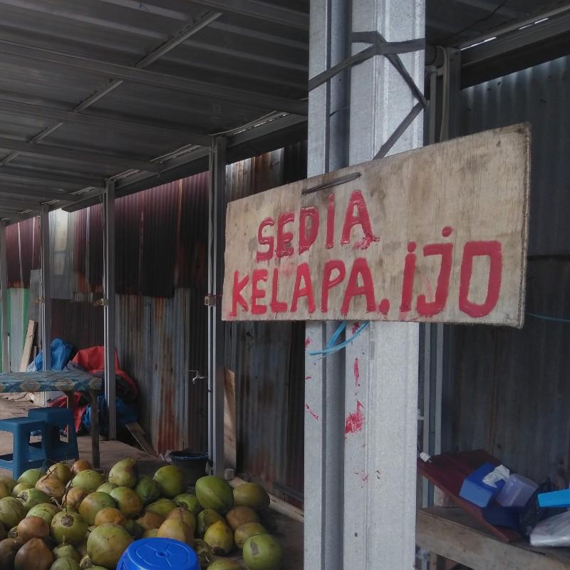 Degan, daugan, kelapa muda, dan kelapa ijo, apa bedanya?