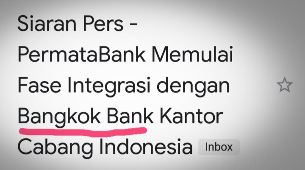 Orang Jawa dan Bangkok Bank