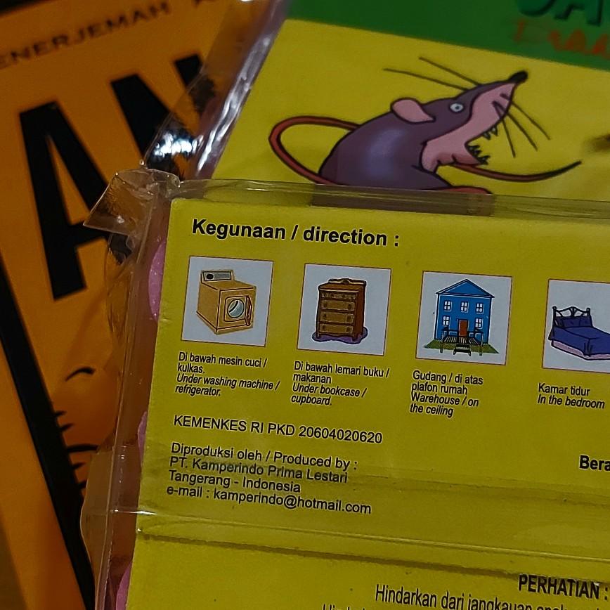 Pengusir tikus cap Saudi Choice