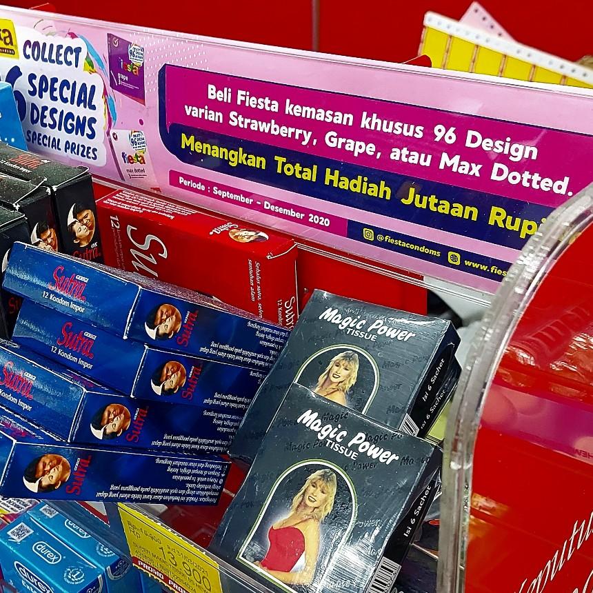 Coba Anda cari kondom rasa durian