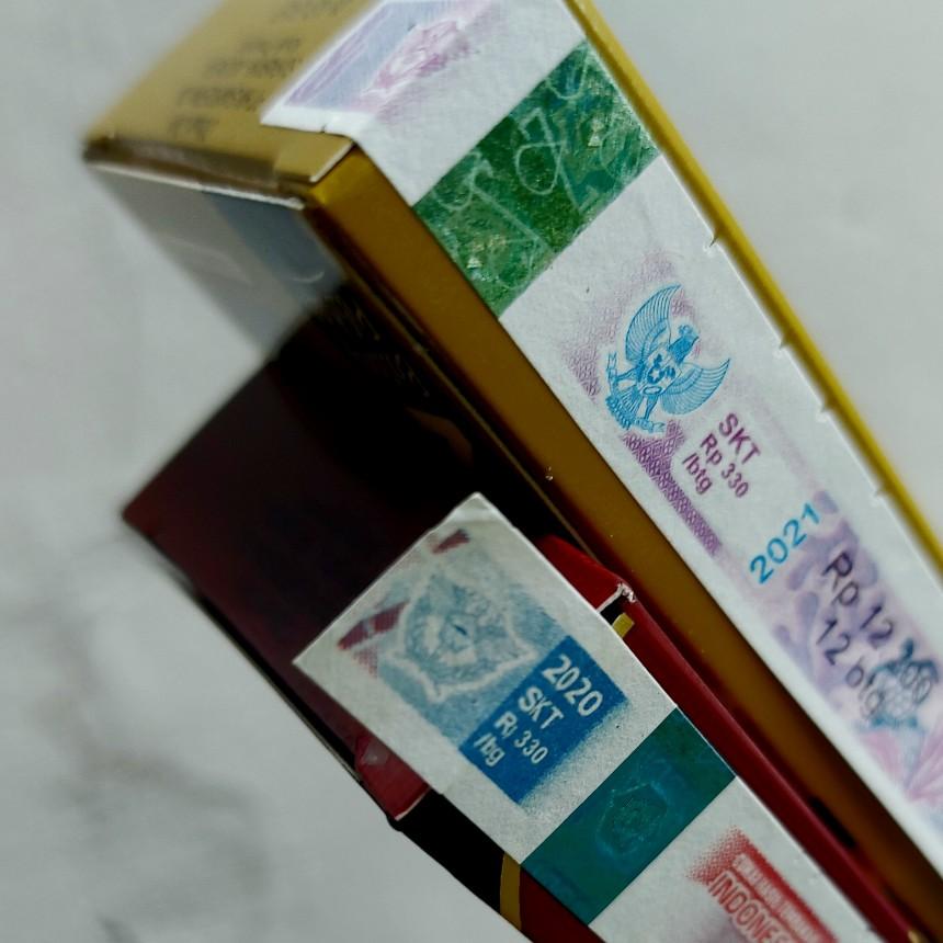 Cukai rokok dihitung per batang dan tarif naik terus