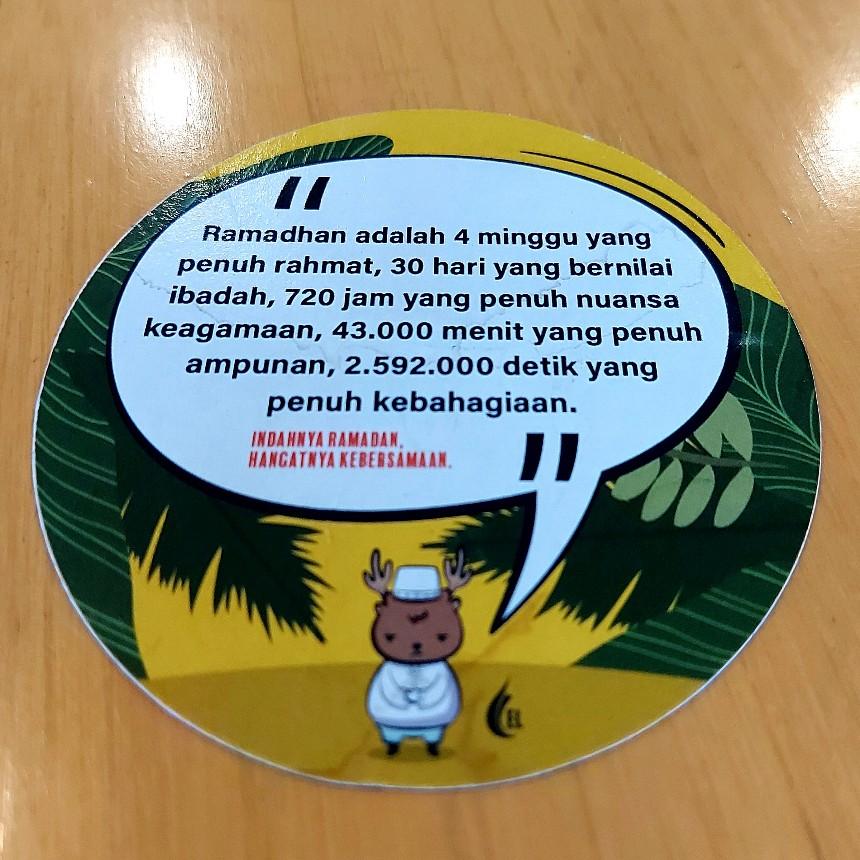 Pesan Ramadan di El Cafe Resto Bogor