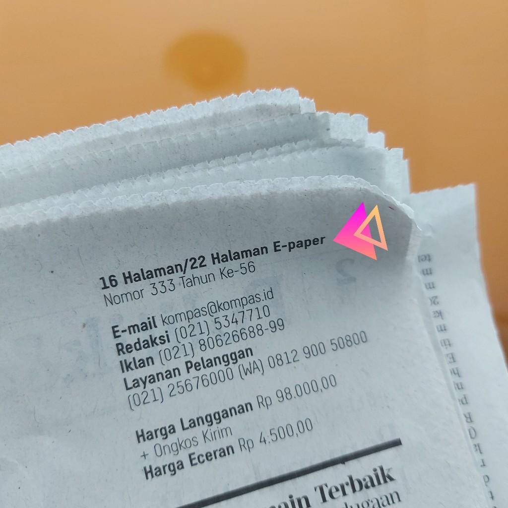 Perbedaan konten Kompas cetak dan e-paper