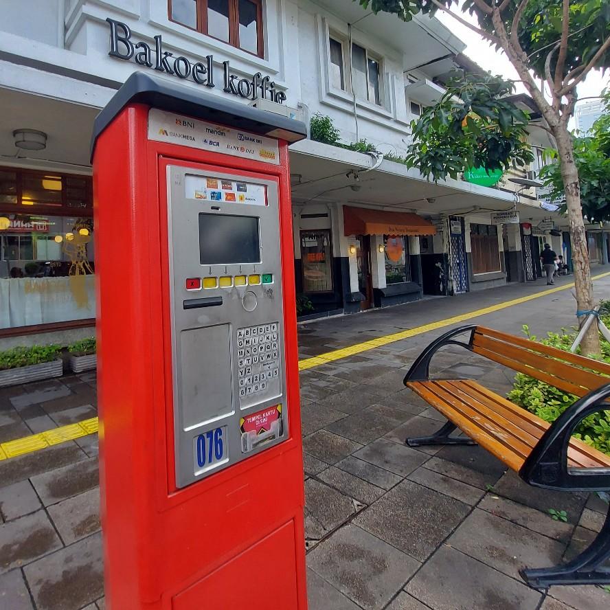 Nasib mesin meter parkir swalayan Ibu Kota