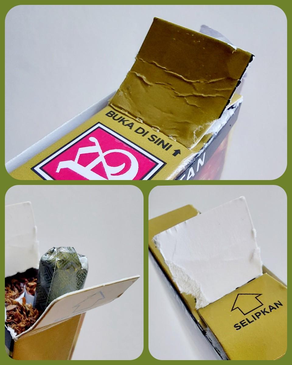 Cara buka bungkus rokok Sampoerna Hijau edisi khusus