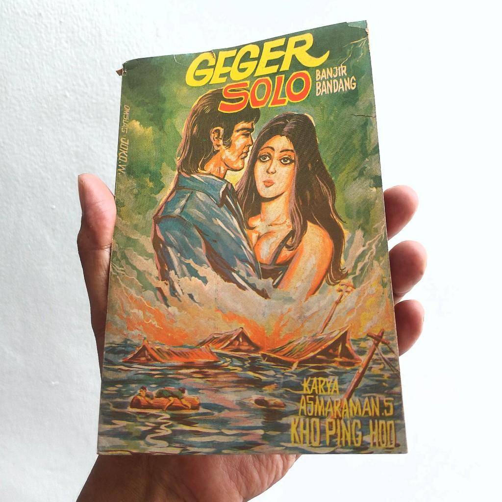 Buku Geger Solo Banjir Bandang karya Lho Ping Hoo