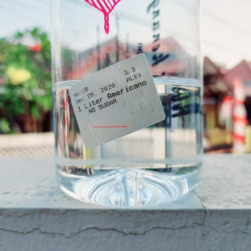 Apakah kita bisa menggunakan botol plastik bekas es kopi?