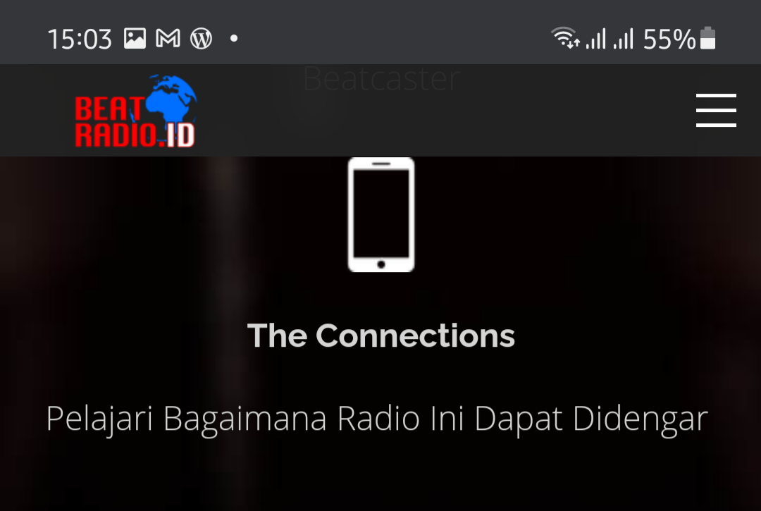 Beat Radio yang katanya stasiun radio digital