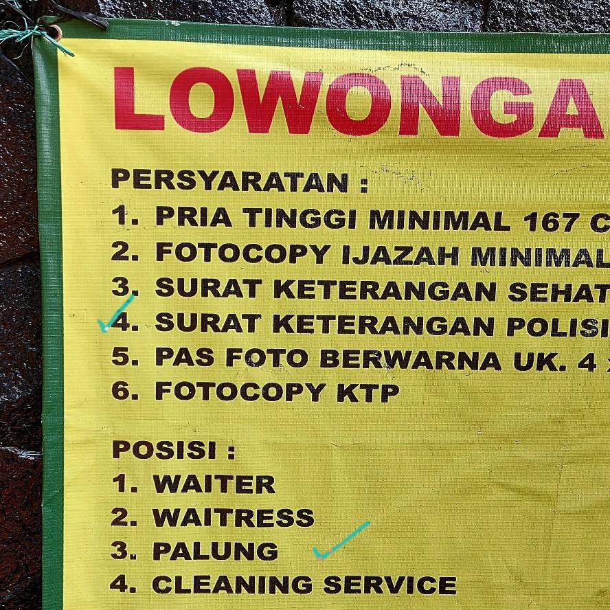 Lowongan kerja di restoran padang Pagi Sore Cipete Jakarta