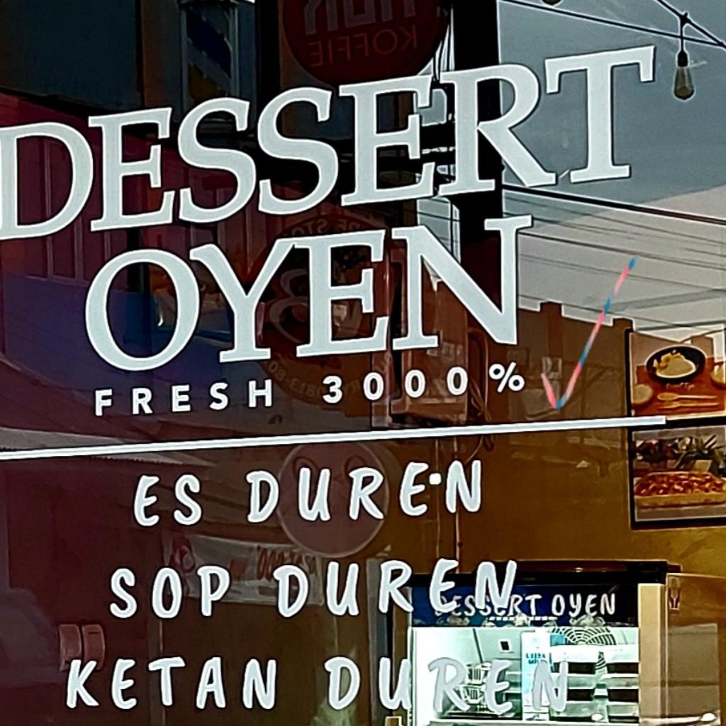 Dessert Oyen fresh 3000 persen di Bekasi