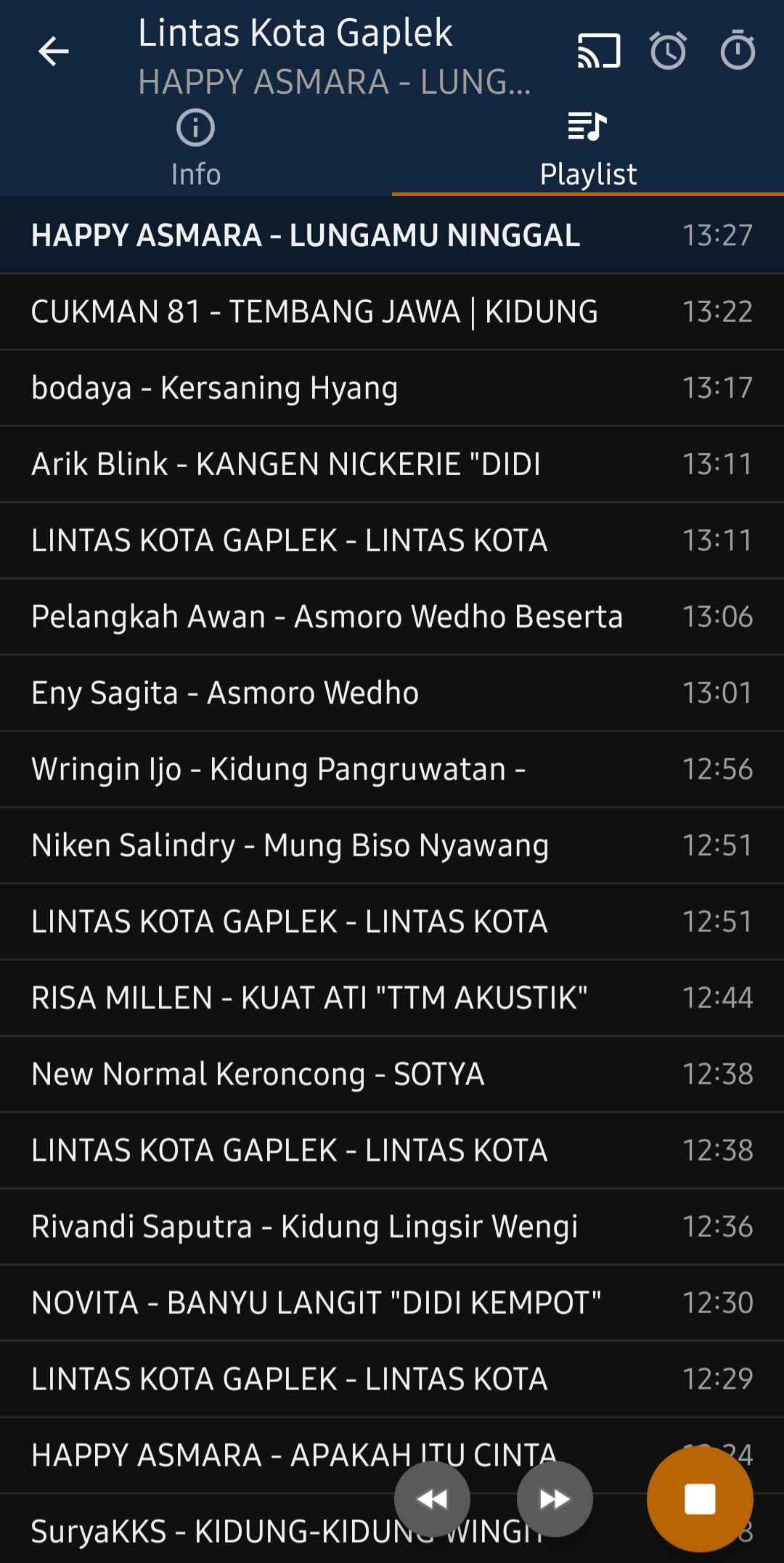 Radio Lintas Kota Gaplek Wonogiri Jawa Tengah