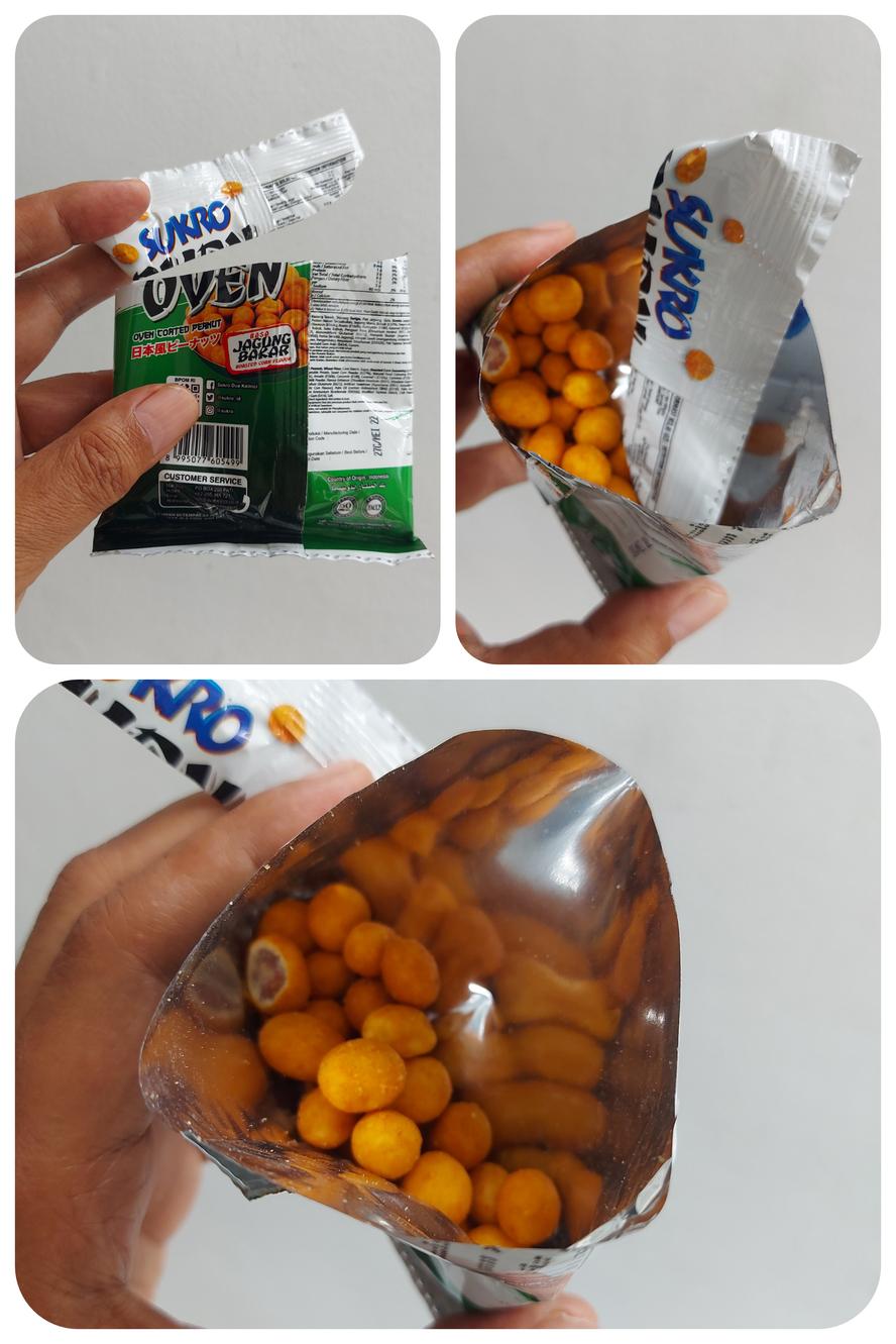 Kenapa kacangnya cuma sepertiga kantong